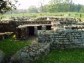 Chesters Roman Fort - VCommanders House - larger picture opens in new window